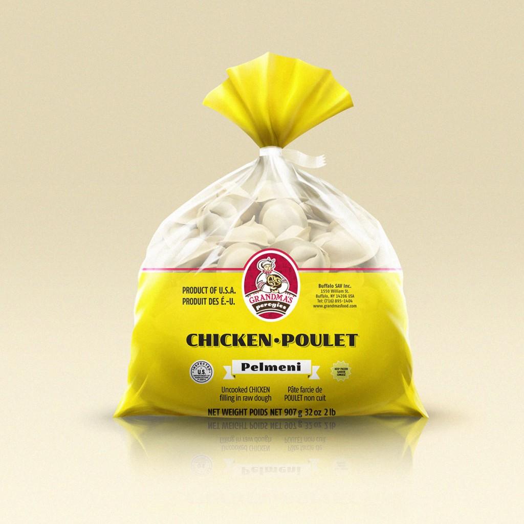 Grandmas Perogies Canada Standard 2lb Chicken Dumplings