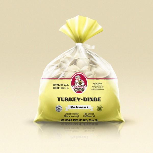 Grandmas Perogies Canada 2lb Turkey Dumplings