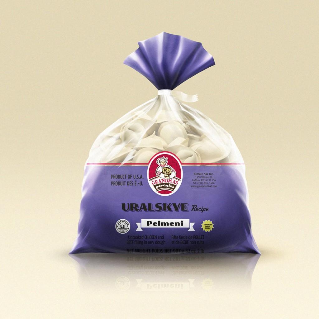 Grandmas Perogies Canada 2lb Uralskye Dumplings