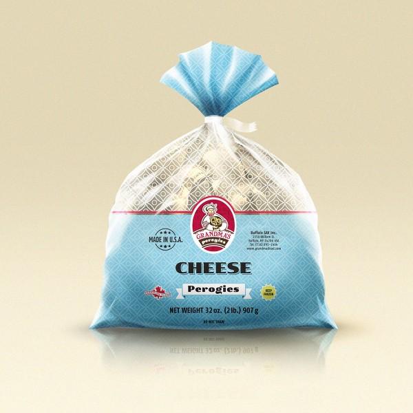 Grandmas Perogies Salted Farmers Cheese Perogies 2Lbs