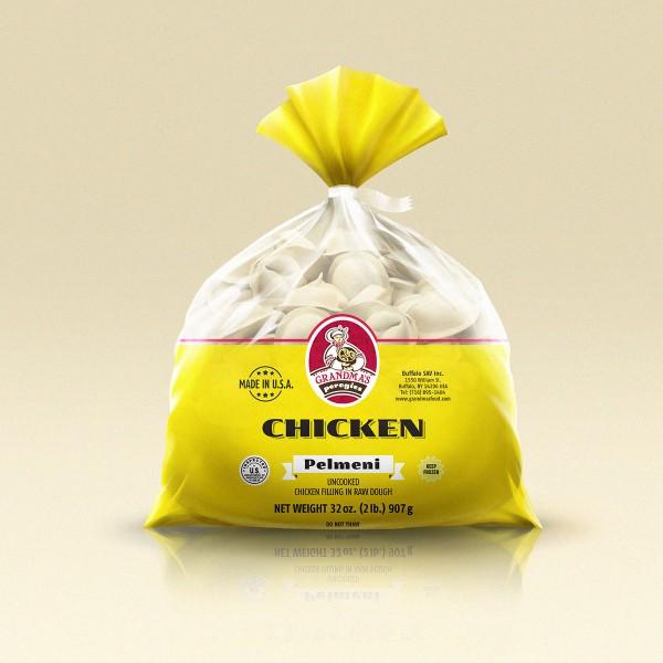 Grandmas Perogies Standard 2lb Chicken Dumplings