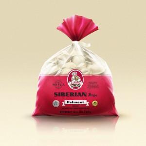 Grandmas Perogies Standard 2lb Siberian Dumplings
