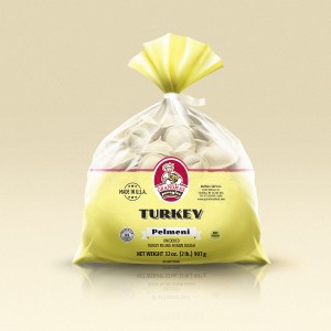Grandmas Perogies Standard 2lb Turkey Dumplings