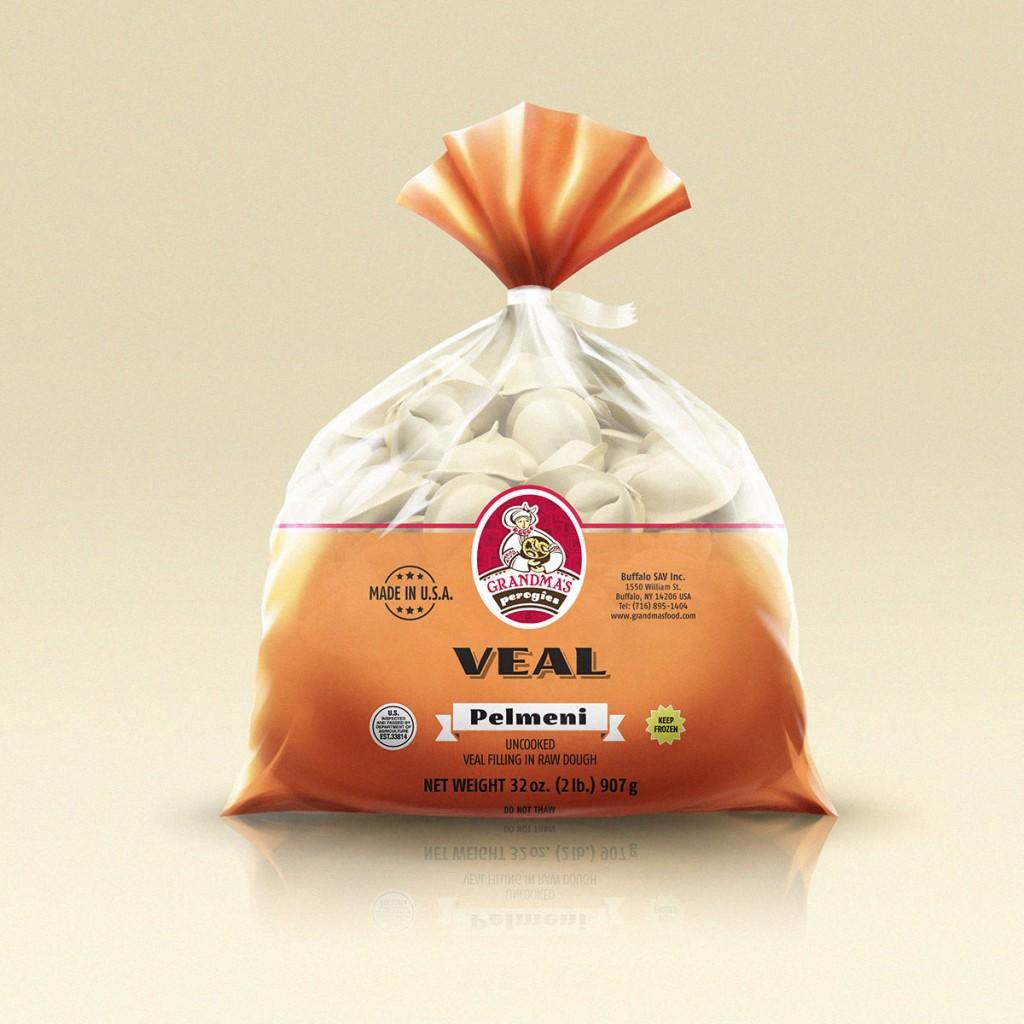 Grandmas Perogies Standard 2lb Veal Dumplings