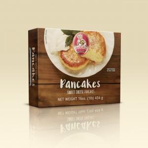 Grandmas Food Sweet Cheese Pancakes