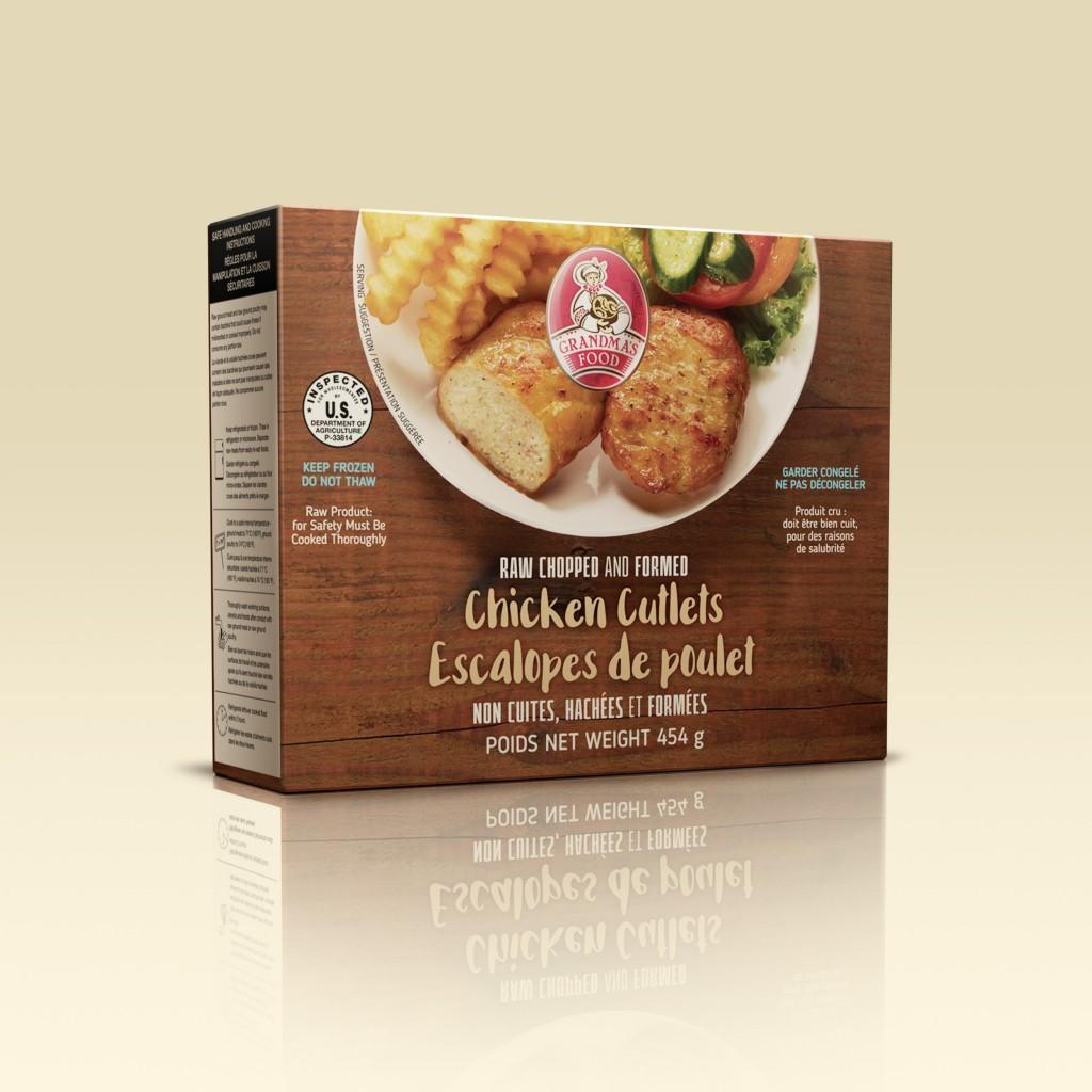 Grandmas Food Canada Chicken Cutlets Canada
