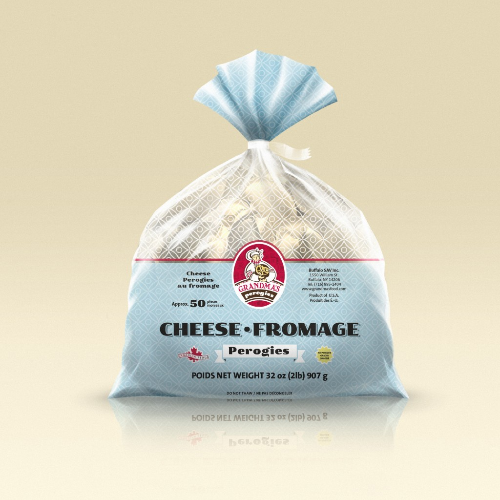 Grandmas Perogies Canada Salted Farmers Cheese Perogies 2Lbs